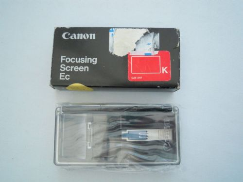 CANON FOCUSING SCREEN Ec  CZ6-2117 K